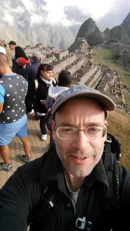 Picture of Robert Burgess in Peru