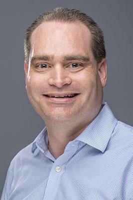 Portrait of Christopher Grindrod